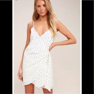 Never worn! Wrap dress